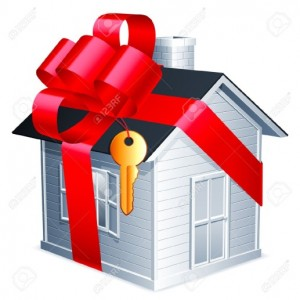 How can you gift the right for someone to live in your home?