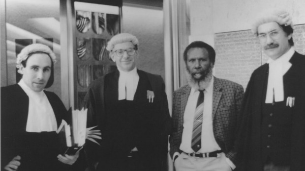 In homage to the lawyers that made Mabo